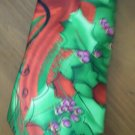 "Jerry Garcia Neck Tie Christmas Butterfly Study 3.5"" 56 inches Collection 56"