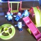 Raggedy Ann Andy 1988 Macmillian PVC Playground Set