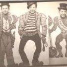 Vintage 1950s Photo Silly Boys Carnival Hobo Face Fair