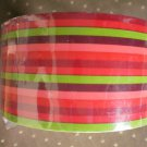 Printed Packaging Tape Fiesta Stripe 26-7385 Gift Wrap