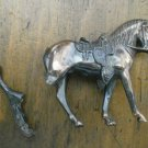 Metal Horse Vintage Broken Trophy Craft Stallion Figurine AS IS