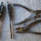 Charms Cracker Jack Pliers Screwdriver Lot 4 Vintage Metal