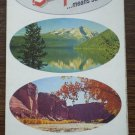 California Fold Out Map Chevron Standard Oil 1966