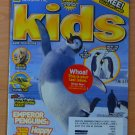 National Geographic Kids November 2006 Emperor Penguins Happy Feet w/ Cards