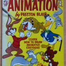 ANIMATION Learn How To Draw Animated Cartoons 1949 Preston Blair Vintage
