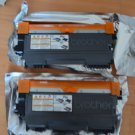 Lot 2 Empty BROTHER TN-450 Printer Cartridge Virgin TN450 Toner