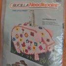 Vintage Bucilla THIS LITTLE PIGGY Needlepoint BANK Kit #4851 New