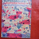 Supergroups! Superstars! Supersongs! Paperback Warner Bros Sheet Music Lyrics Guitar Chords