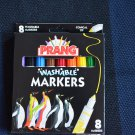 Vintage Prang Washable Markers Conical Tip 8/box Penguin 80680 Dixon Ticonderoga