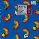 intage Gift Wrap Marcel SchurmanArtfaire Rainbow 2pc 20x30 Butterfly Star