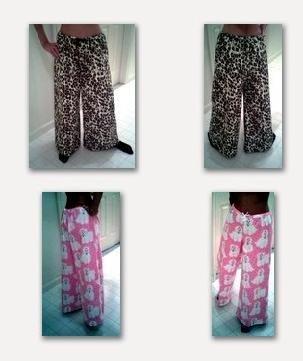 Custom Made Flannel Pajama Bottoms or Lounge Pants