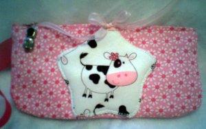 Happy Cow Wristlet or Eyeglass Case