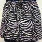 Misses Zebra Print Shorts