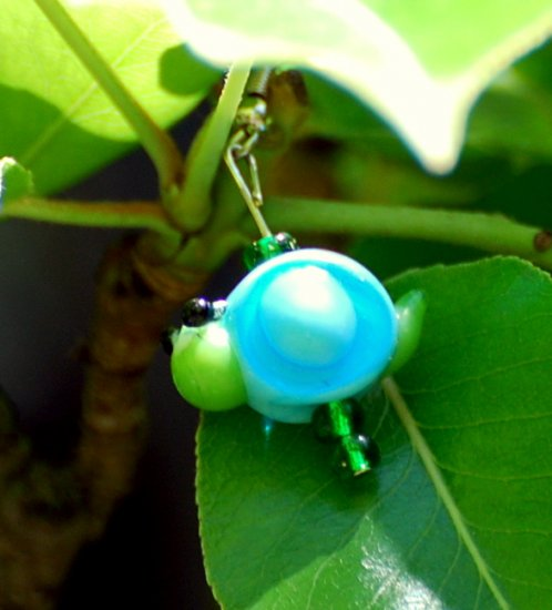Garden Snail earrings