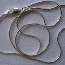 "18"" Snake Chain Sterling Silver Necklace - New"