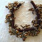 """7""""-8.75"""" Brown Cultured Pearl Cluster Bracelet"""