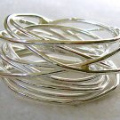 Wire Wrap Sterling Silver Ring
