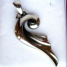 316 Stainless Steel Wing Pendant