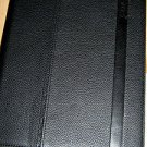 NWT Coach Camden Black Pebbled Leather iPad Case Stand F62356 $198
