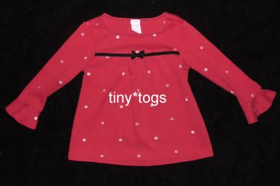 Gymboree Holiday Magic Swing Top Flowers Bow 4 4T HTF