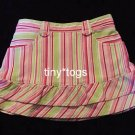 Gymboree Sweetheart Valentine's Striped Skort Skirt 2T