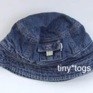 Gymboree My Dinosaur Denim Bucket Hat 6 9 12 EUC