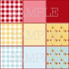 M2MG Strawberry Farm Background Set for Templates