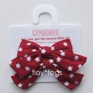 NWT Gymboree Red White Blue Star Hair Bows Clips 3T 4 5