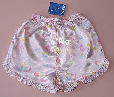 NWT Gymboree Mermaid Lounge Satin Pajama Bottoms 2T 3T