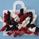 NWT Gymboree Holiday Friend Red Black Hair Curly Clips