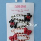 NWT Gymboree Holiday Friend Scottie Dog Hair Clips 5 6