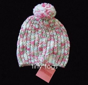 NWT Gymboree Snow Princess Sweater Hat Pom Pom 5 6 7