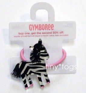 NWT Gymboree Wild One Zebra Hair Pony New 4 5 6 7 8
