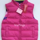 NWT Gymboree Candy Shoppe Puffy Vest Pink Medium 7 8