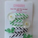 NWT Gymboree Daisy Days Alligator Flower Hair Clips 5 6