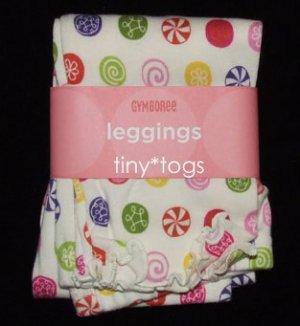 NWT Gymboree Candy Shoppe Print Leggings Pants 4T 4 New