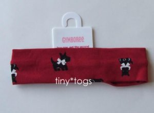 NWT Gymboree Holiday Friends Scottie Dog Hair Headband