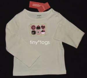 NWT Gymboree Sweeter than Chocolate Bon Bons Top 4 4T