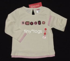 NWT Gymboree Sweeter than Chocolate Sweet Heart Top 2T
