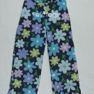 Gymboree Spring Showers Navy Flower Capris Pants 5 Lg