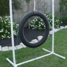 Tire Jump for Dog Agility
