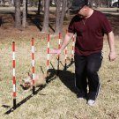 Weave Poles with Metal Base - Dog Agility
