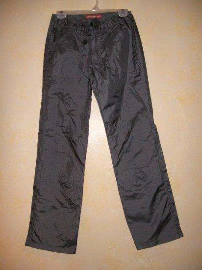 UNION BAY~Gray LINED Nylon/WINDBREAKER Pants NEW sz 5