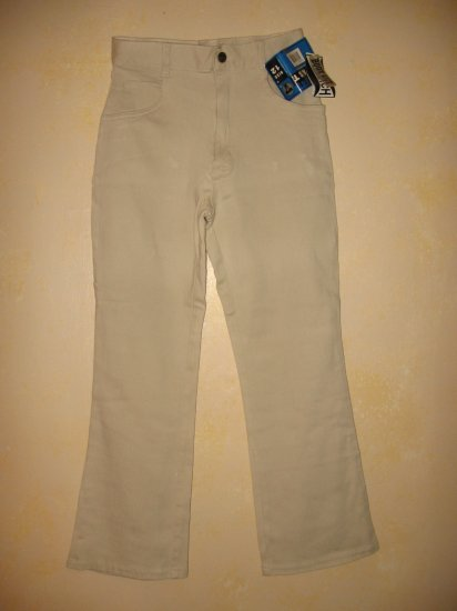 New w/Tags~FRENCH TOAST~CREAM Boot Cut STRETCH JEANS sz 12