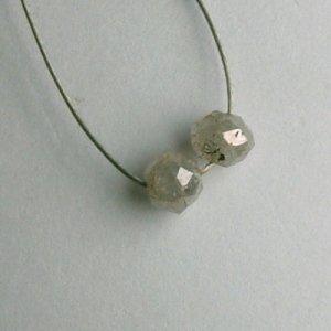 0.63 ct. Diamond Bead Collection � intense silver sparkle