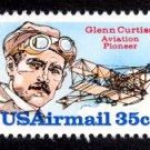 C100 Mint Never Hinged GLENN CURTISS Mystic $1.40