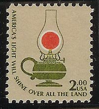 #1611 MNH $2 Kerosene Lamp hi CV Mystic $8.25