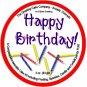 Happy Birthday Cake - Chocolate Brownie
