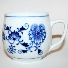 Zwiebelmuster Vintage Blue Onion Fine China Coffee Tea Cup Mug Czechoslovakia