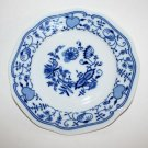 Czech Zwiebelmuster Blue Onion Fine China Porcelain Salad Dessert Plate 7.5""